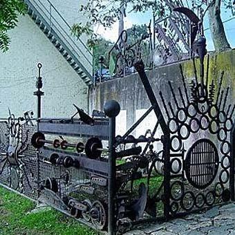 Забор из металла своими руками