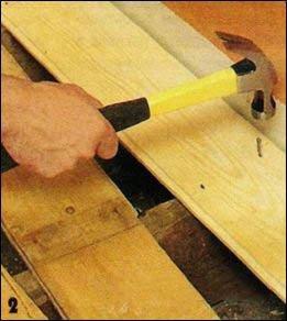 Как сделать деревянный пол своими руками