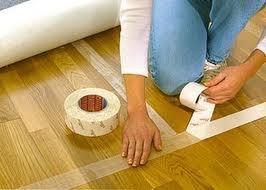 Как постелить ковролин