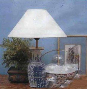 Лампа из вазы своими руками