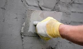 Оштукатуривание стен цементно-песчаным раствором
