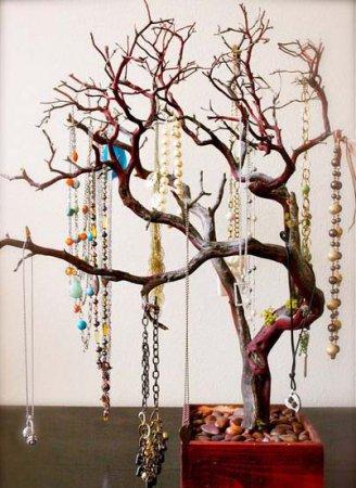 Деревце для хранения бижутерии
