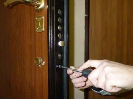Установка сейф-двери своими руками