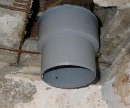 Как поменять канализационный стояк