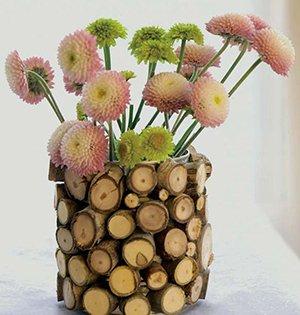 Как сделать красивую декоративную вазу