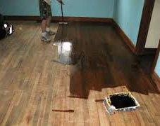 Как покрасить деревянный пол своими руками