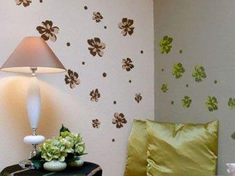Как украсить стену комнаты
