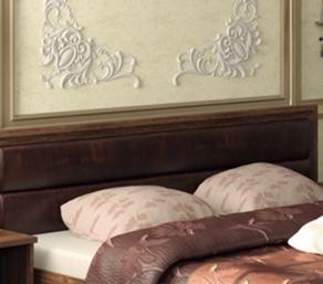 Кровати с наличием мягкого изголовья