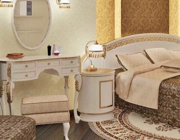 Дизайнерские решения в оформлении квартиры. Дизайн спальни
