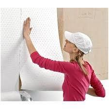 Как оклеить обоями фанерные стены