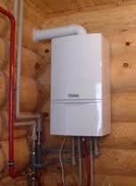 Установка газового котла в каркасном доме