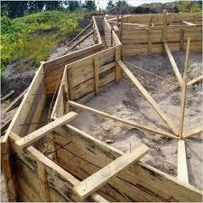 Как поставить деревянную опалубку