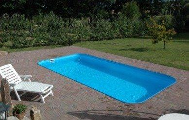Как построить бассейн с использованием полипропиленовой формы